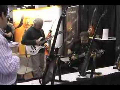 John Pisano and Harry Orlove NAMM 08