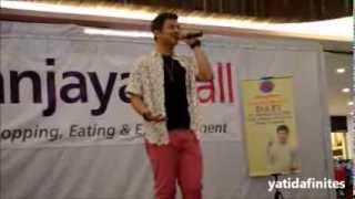 Dafi - Salahkah Aku @ Amanjaya Mall