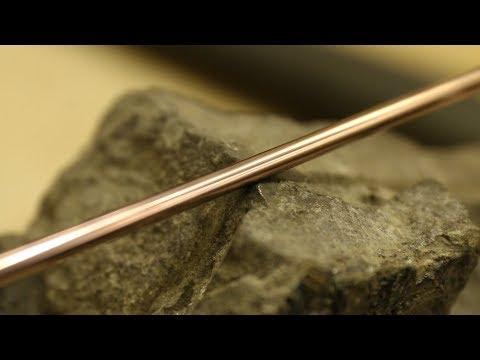 Медь режет камень. Древнеегипетская технология резки твердых пород