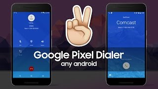 How to install Google Pixel Dialer on most android smartphones!