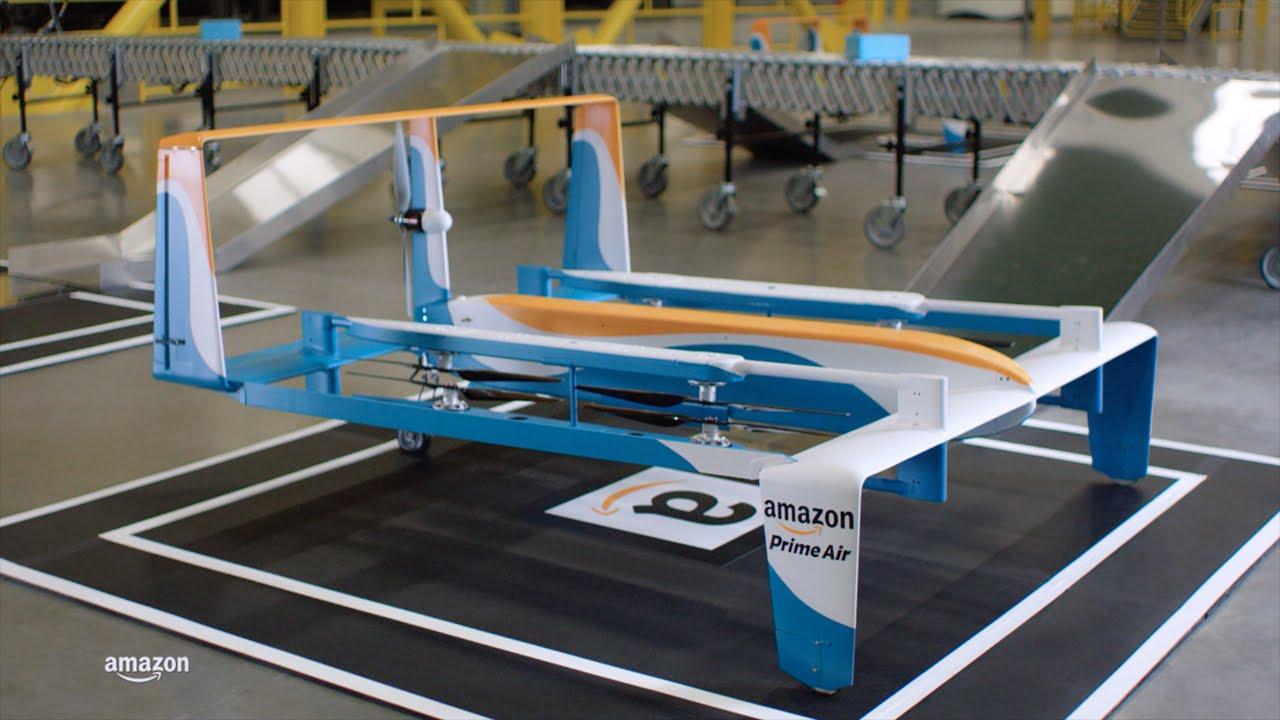 Itt az Amazon csomagszállító drónja - videó