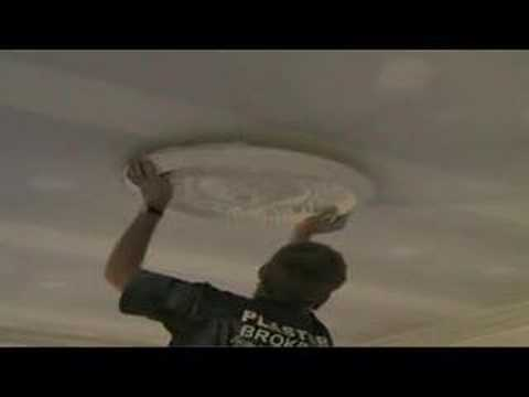 How to install a CEILING ROSE OR ROSETTE PART TWO