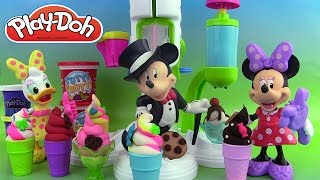 Play Doh Le Méga Mega Glacier Gourmand Play Doh Sweet Shoppe Perfect Twist Ice Cream Playset