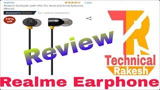 Realme Earphones / Bubs Review rs 499 #atechnicalrakesh
