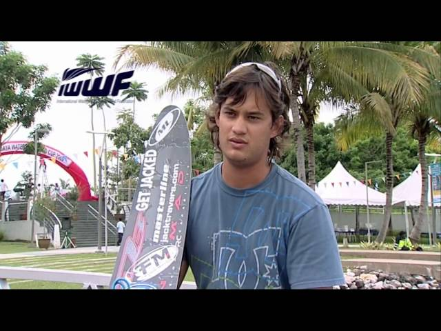 IWWF World Cup feature - Jonathon Travers
