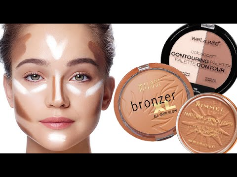 Top Drugstore Bronzers   Contouring & Highlighting Tutorial