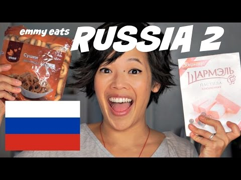 Emmy Eats Russia 2 - an American tasting Russian treats