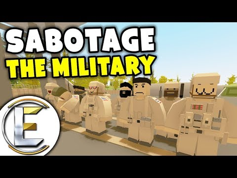 Sabotage The Military - Unturned Roleplay Outbreak Story S3#8 (Sabotage Army Vehicles) thumbnail