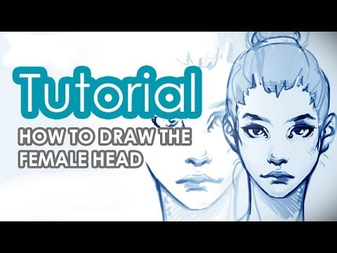 How to draw a female Head Tutorial