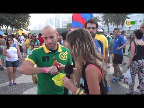 Reportero Brasileño le da picante a los Mexicanos