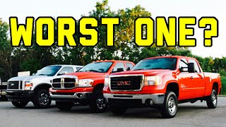 Worst Diesel Engine Ever - What is the Best Diesel Truck out There?