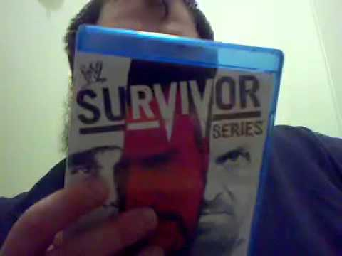 Unboxing 216 WWE Survivor Series Bluray