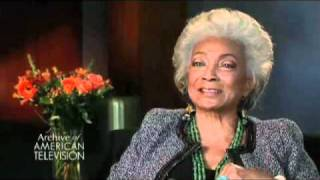Nichelle Nichols on the beginning of Star Trek - EMMYTVLEGENDS.ORG
