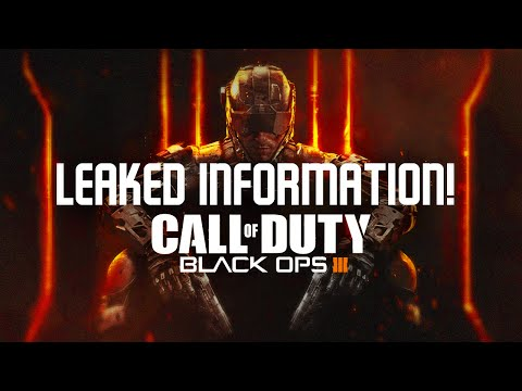 BLACK OPS 3 - LEAKED INFORMATION (Beta, Movement, Zombies)