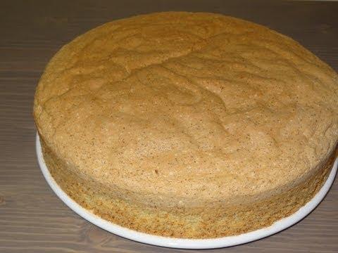 Receta: Bizcocho Genovés casero - Ideal para tartas de varias capas