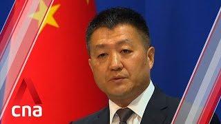 China demands US stop meddling in internal affairs after Trump meets Uighurs