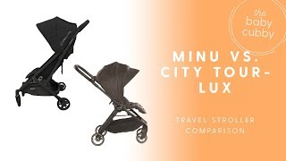 NEW 2018 UPPAbaby Minu vs Baby Jogger City Tour Lux Stroller Comparison