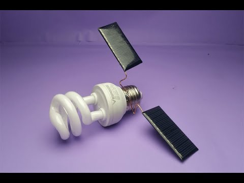 Solar Energy , Electricity Free Energy Generator With Light Bulb thumbnail