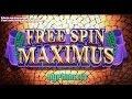 WMS: Spinning Streak Series - Free Spin Maximus Slot Bonus MAX BET