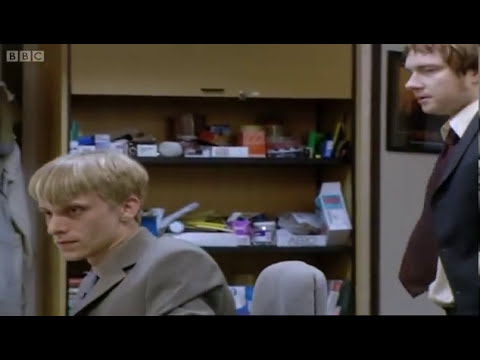 Tim Kisses Gareth - The Office - Series 2 - BBC