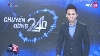 MC Hạnh Phúc xem lại lần đầu mình dẫn Chuyển Động 24h | VTV24