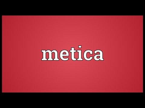 Header of metica