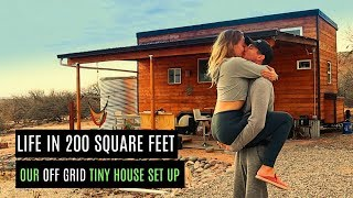 LIVING IN AN OFF GRID TINY HOUSE