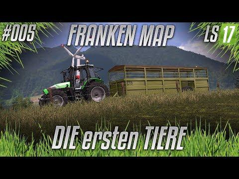 LS17 - Franken Privatumbau #005 - Die ersten Tiere [HD] [german]
