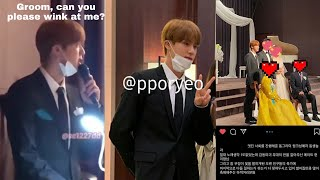 [Engsub] BTS Jin hosted/MC-ed for his brother's wedding |📍Pls read pinned comment for more stories