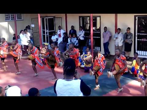 ACC Swaziland (T55-1) - Traditional dance by girls