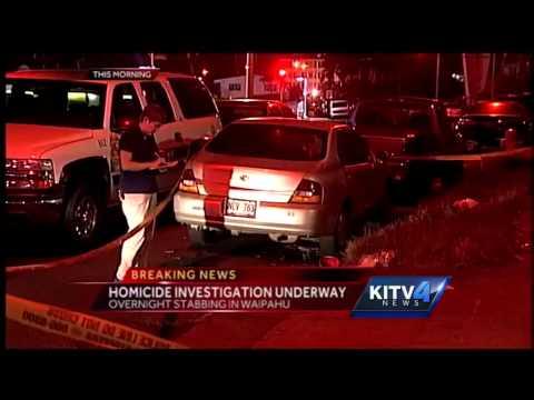 Fatal stabbing leaves Waipahu man dead