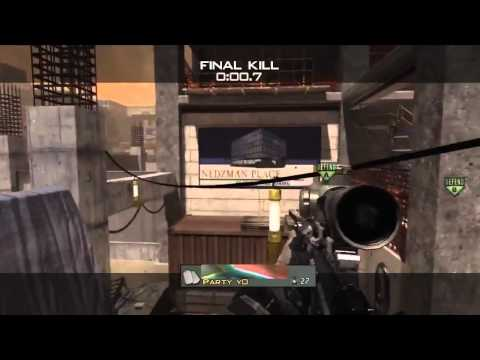 MW3: Lucky Wall-Bang!!!