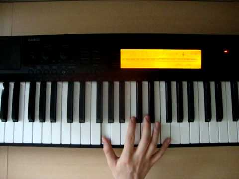 Cm - Piano Chords - How To Play