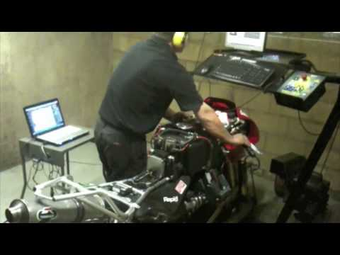 MGS01 on the Dyno with a power commander finds another 10hp