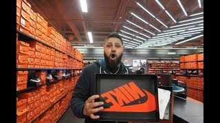 NIKE OUTLET SHOPPING WAS CRAZY! ONLY $20 FOR THESE JORDANS !!