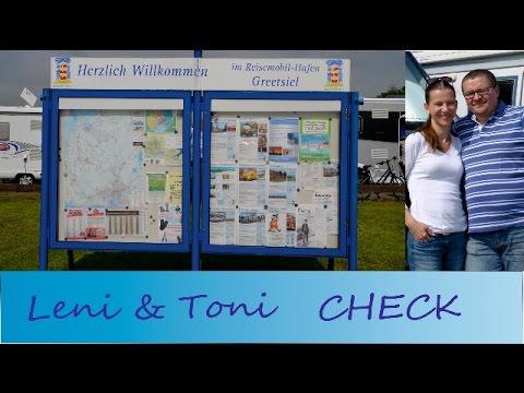Leni & Toni CHECK: Reisemobilhafen GREETSIEL an der Nordsee