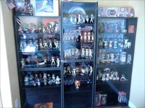 Giants Bobblehead Display Case Part 1 Of 3 Youtube