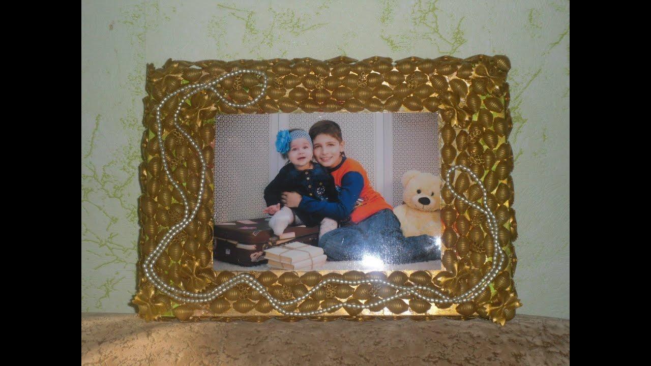 Как сделать рамку для семейного фото своими руками
