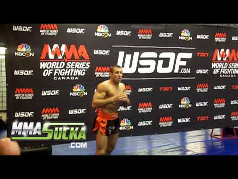 Lance Palmer talks short notice WSOF 7 fight the title and more
