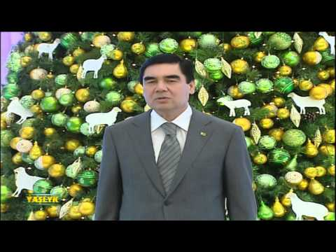 New Year 2015 in Turkmenistan (Part 1)