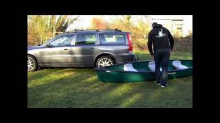 Loading a Canadian Canoe on your own