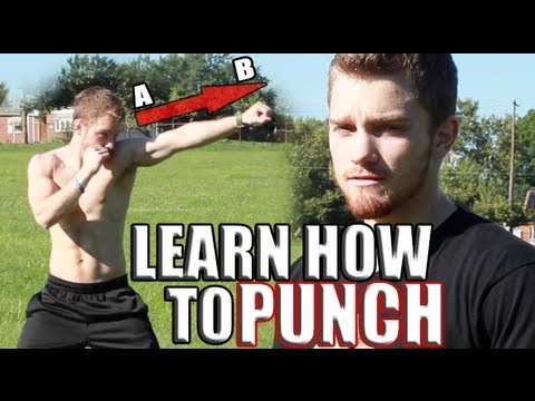 Learn How to Punch Like a Boxer