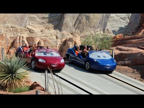 Radiator Springs Racers POV HD 1080p - Full Ride, Cars Land, Disney California Adventure Disneyland