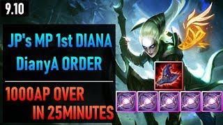 JP's Mastery Points 1st Diana - DianyA order