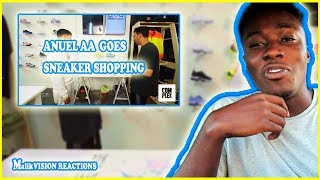 ANUEL AA GOES SNEAKER SHOPPING WITH COMPLEX REACTION! | MalikVISION
