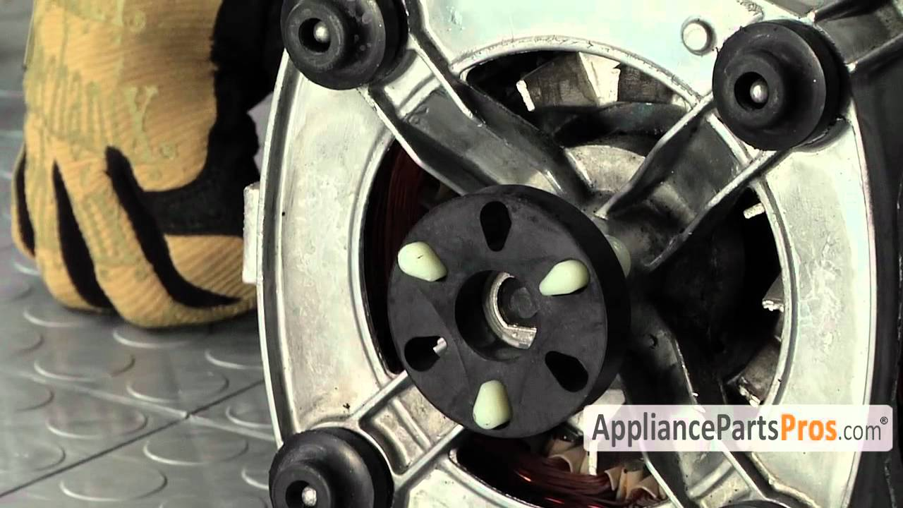 Washer Motor Coupling Part 285753a How To Replace Youtube