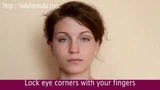 Eyelid Exercises. How to Tighten Droopy Eyelids and Reduce W...