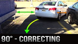 90 degrees Parking - How to Correct Yourself