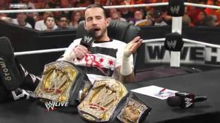 CM Punk owns Triple H - The Chaperone