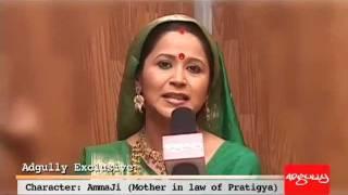 Adgully Exclusive | Asmita Sharma aka Ammaji of Mann Kee Awaaz Pratigya, unplugged!